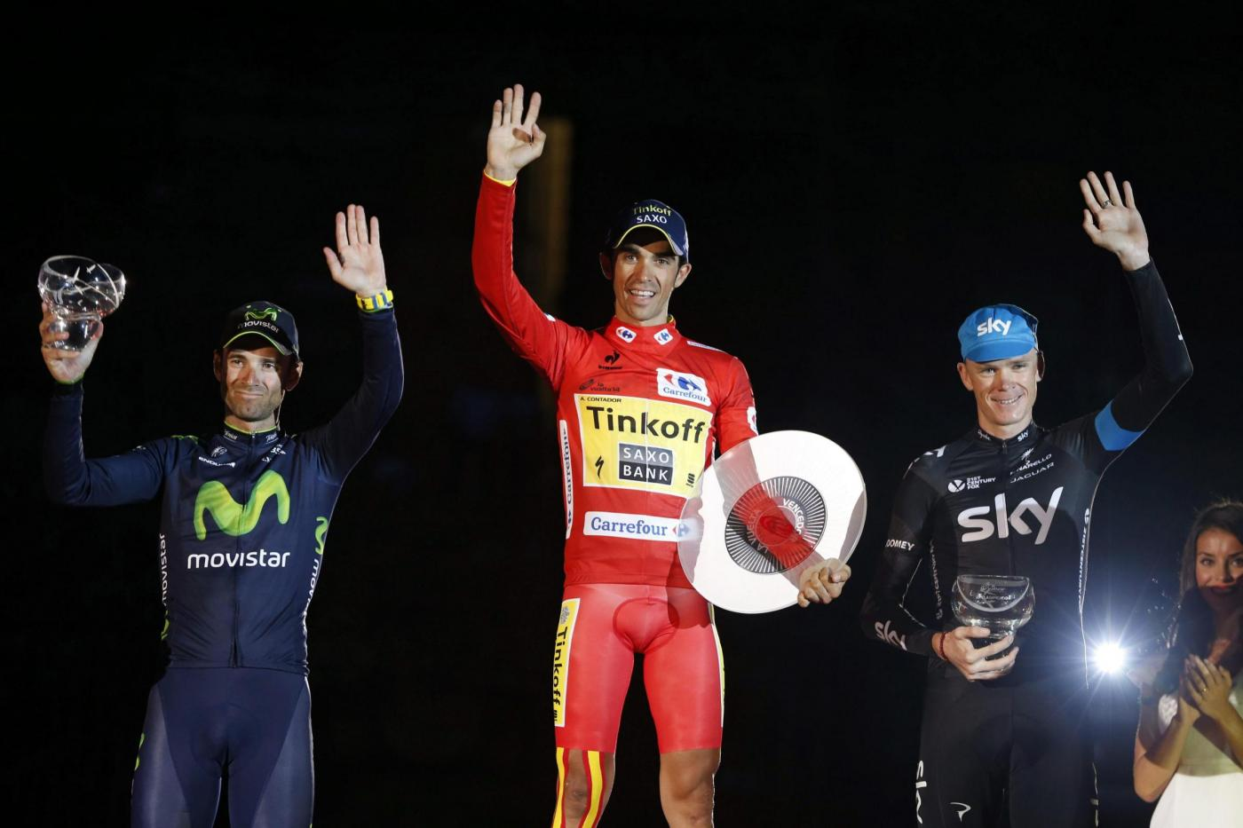 Vuelta di Spagna 2014 a Alberto Contador, il tris