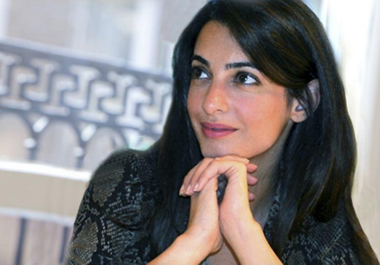 Amal Alamuddin incinta, George Clooney presto papà? Secondo i rumors sarebbe al terzo mese