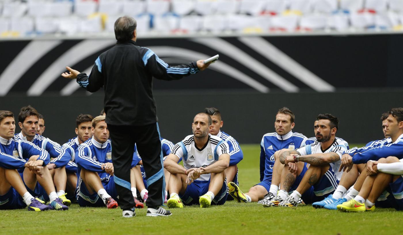 Argentina vs Germania amichevole