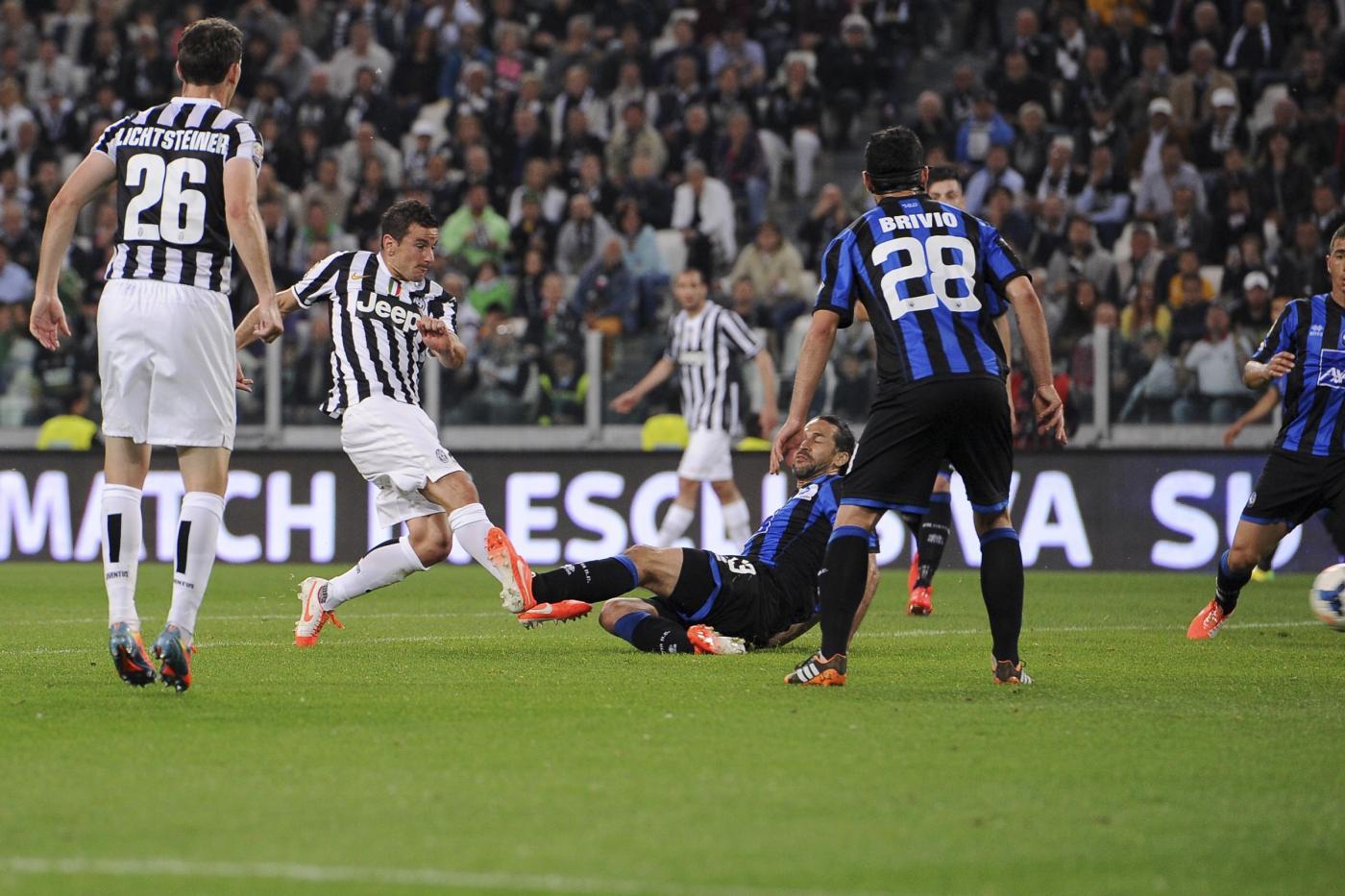 Atalanta Juventus anticipo