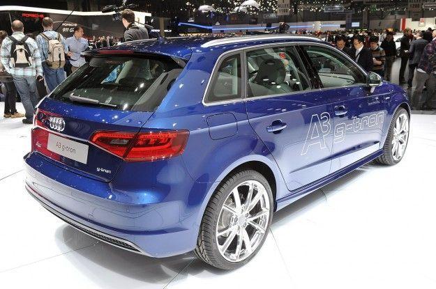 Audi A3 G Tron posteriore