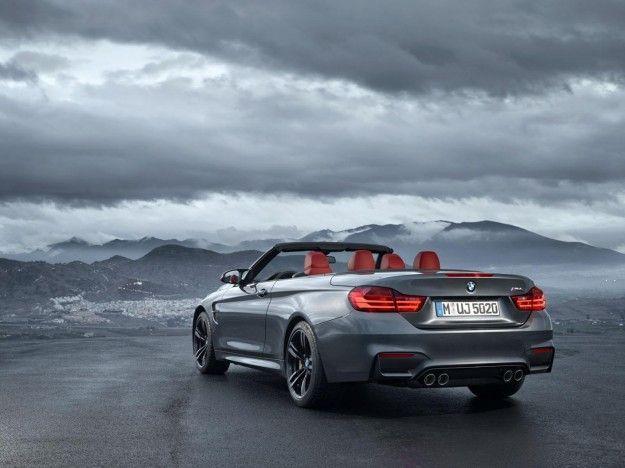 BMW M4 Cabriolet coda