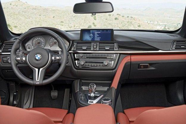 BMW M4 Cabriolet interni