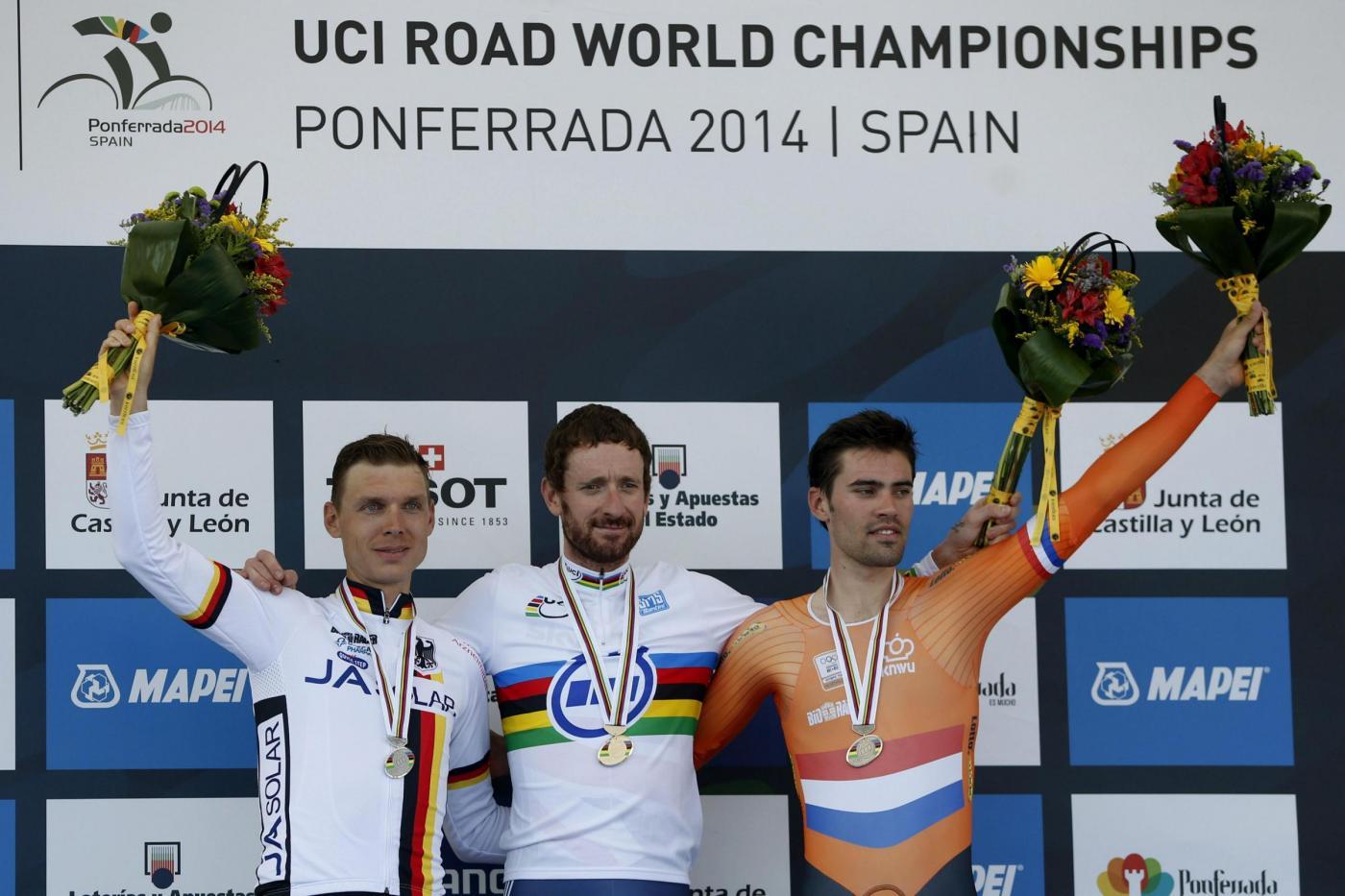 Ciclismo, Bradley Wiggins campione del mondo a cronometro 2014