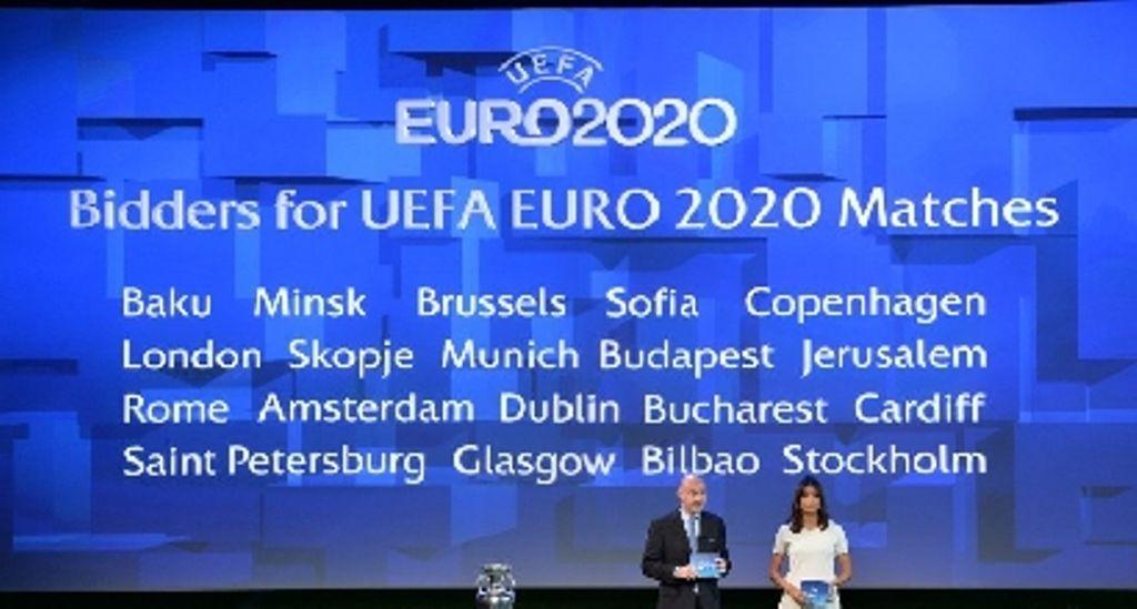 Euro 2020 Italia: un girone e un quarto di finale a Roma