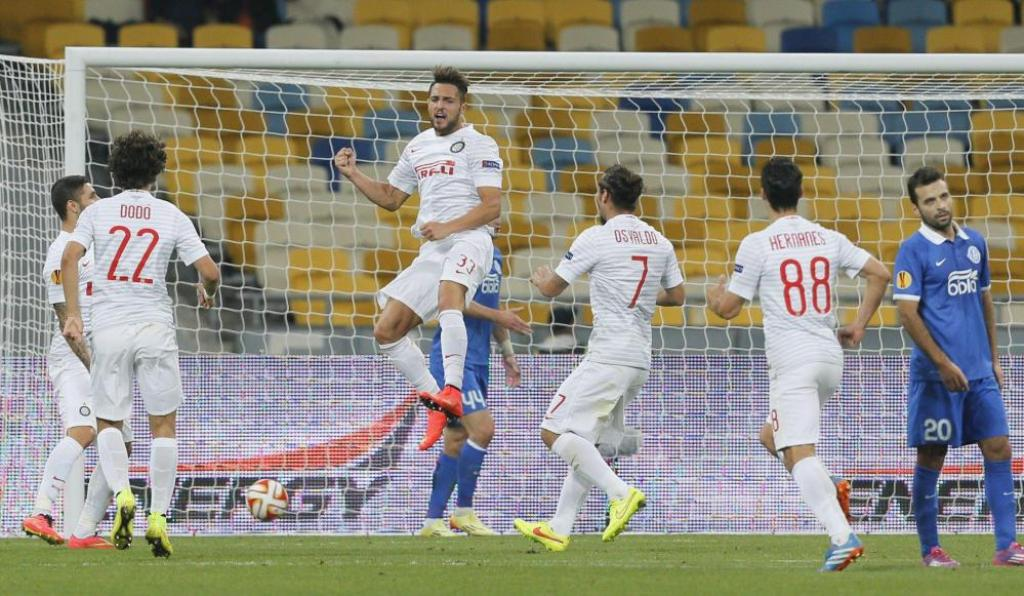Dnipro-Inter 0-1: nerazzurri corsari in Ucraina