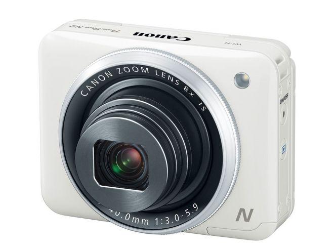 Canon PowerShot N2: fotocamera quadrata per ambidestri