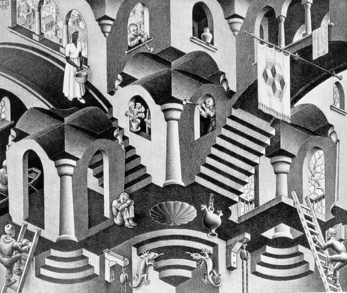 Mostra di Cornelis Escher a Roma, al Chiostro del Bramante dal 20 settembre al 22 febbraio 2015