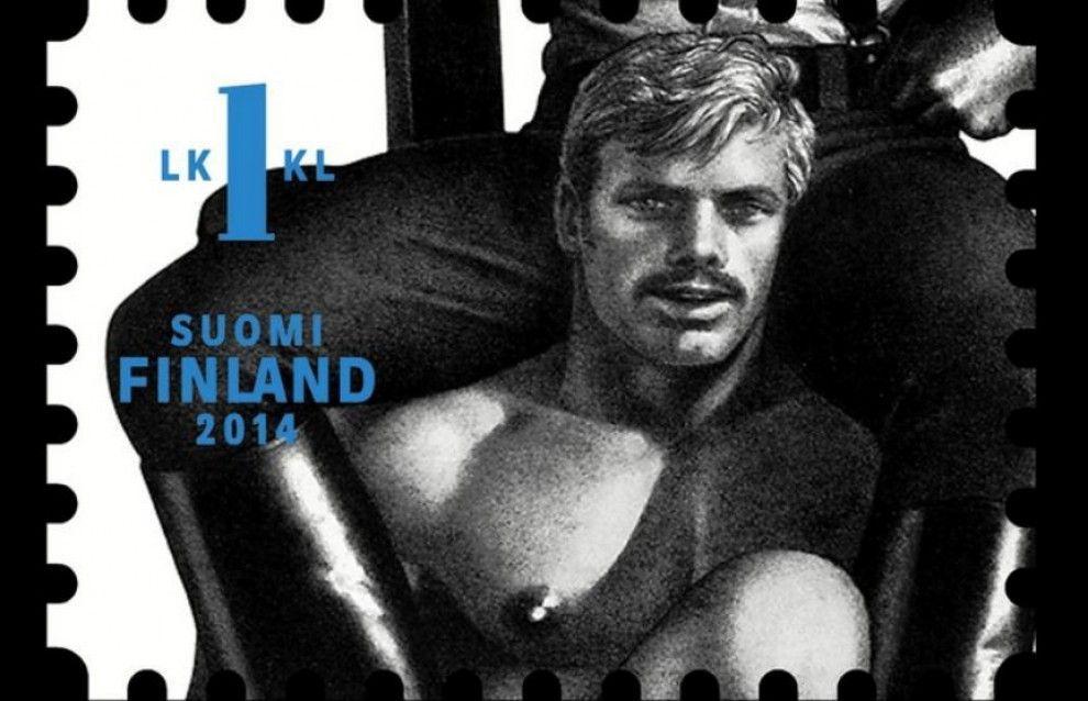 Francobolli rari celebrativi di Tom of Finland, successo mondiale per l'icona gay