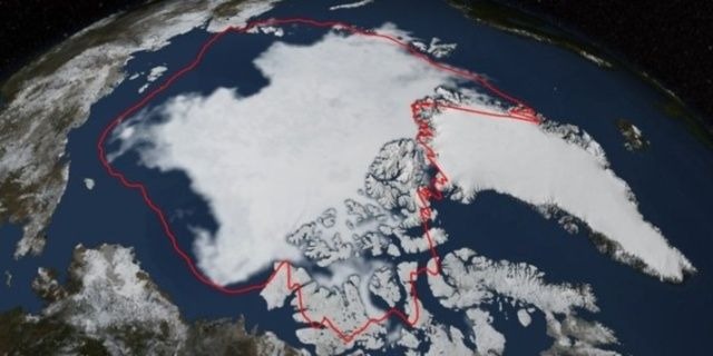 Ghiaccio artico, raggiunto il sesto minimo storico dal 1978