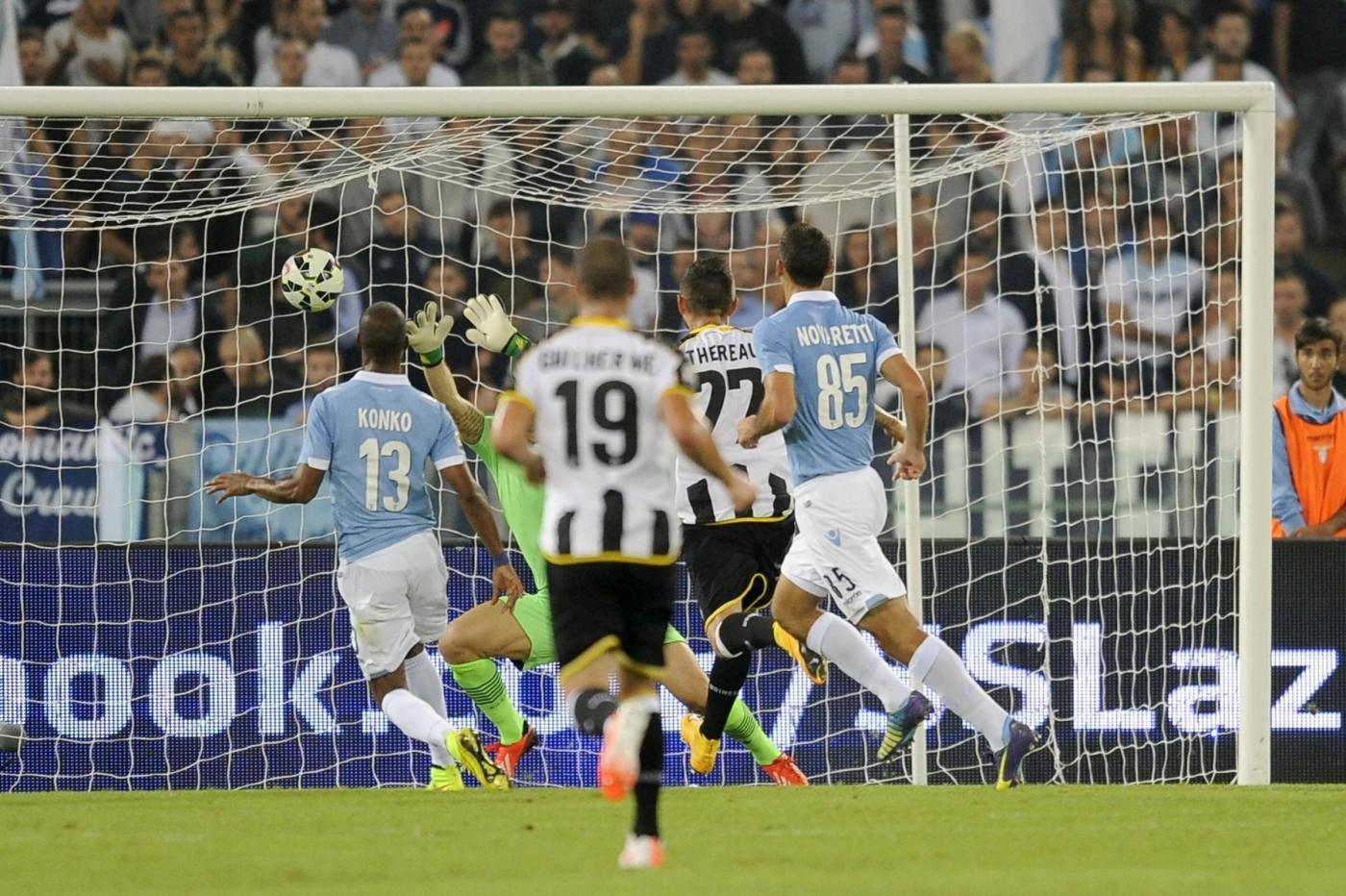 Lazio-Udinese 0-1: Thereau lancia i friulani