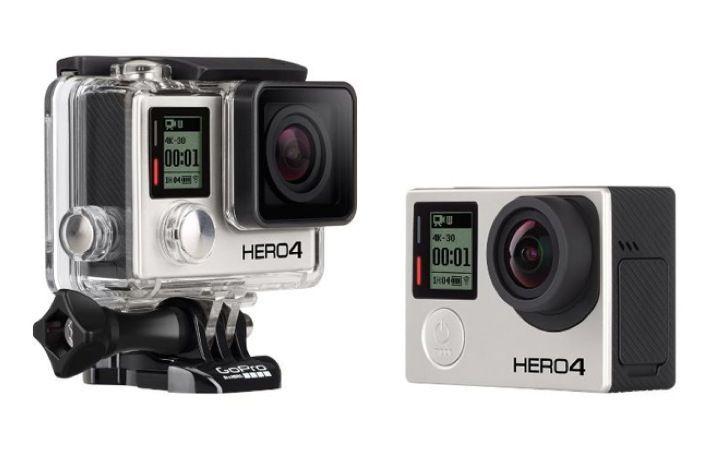 GoPro HERO 4 Black e Silver: le nuove actioncam ultradefinite
