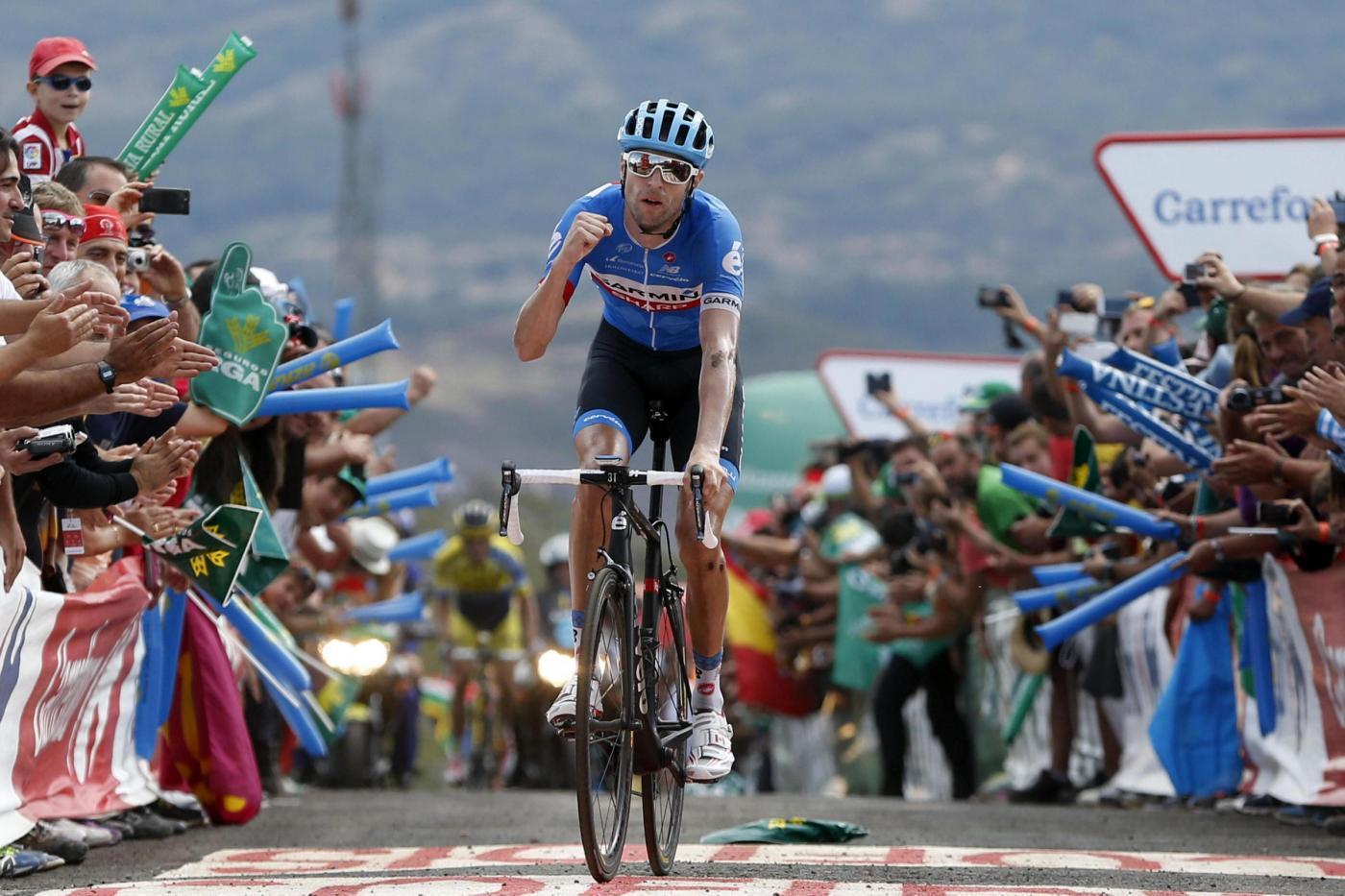 Hesjedal Vuelta 2014