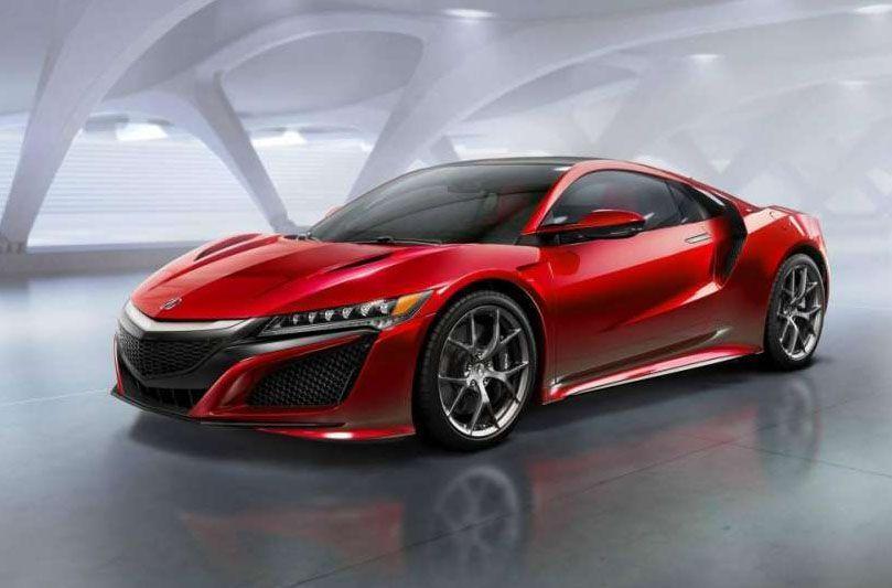 Superbollo auto, lista modelli - Honda NSX