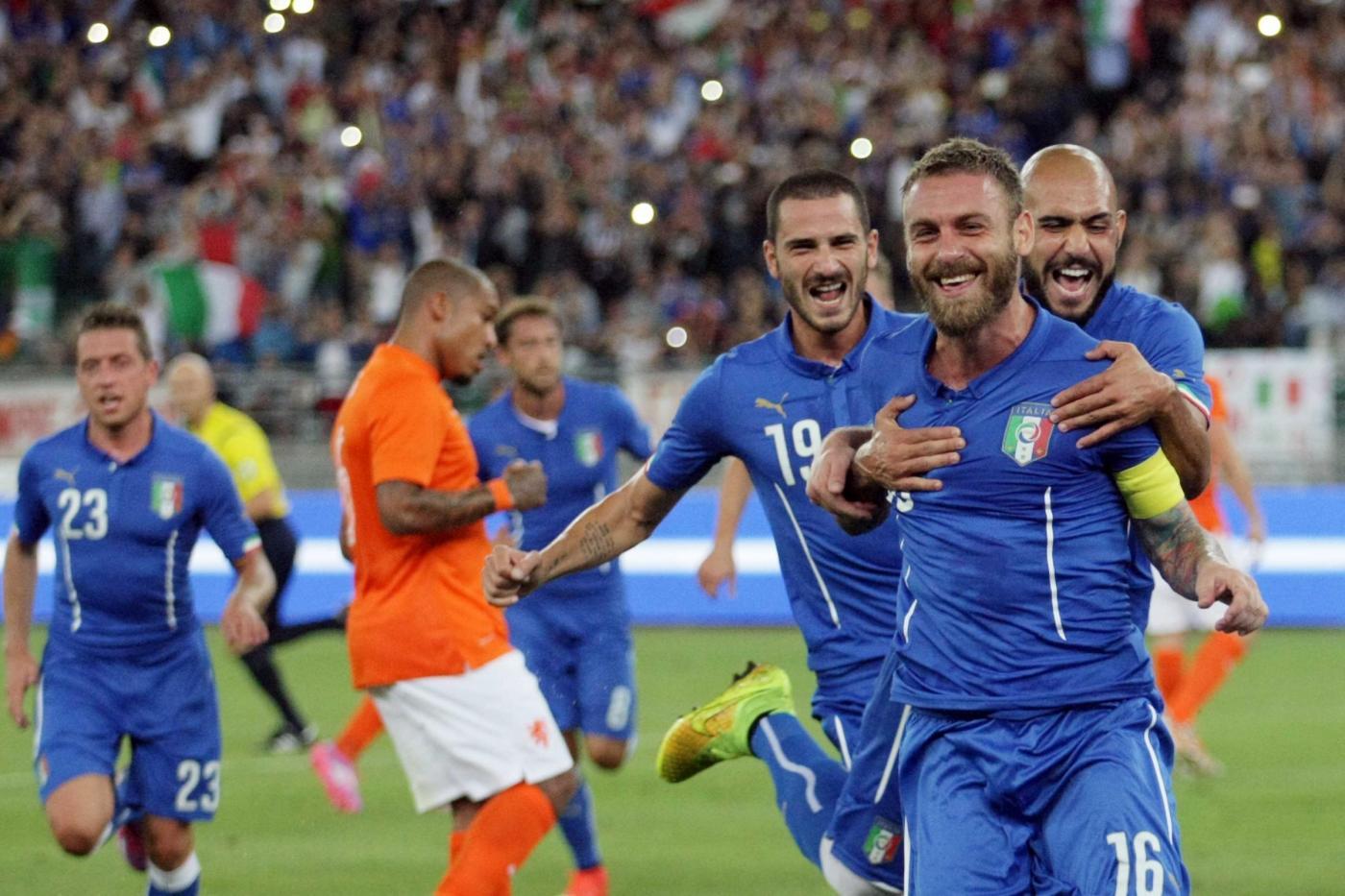Italia vs Olanda 2-0: buona la prima per Conte