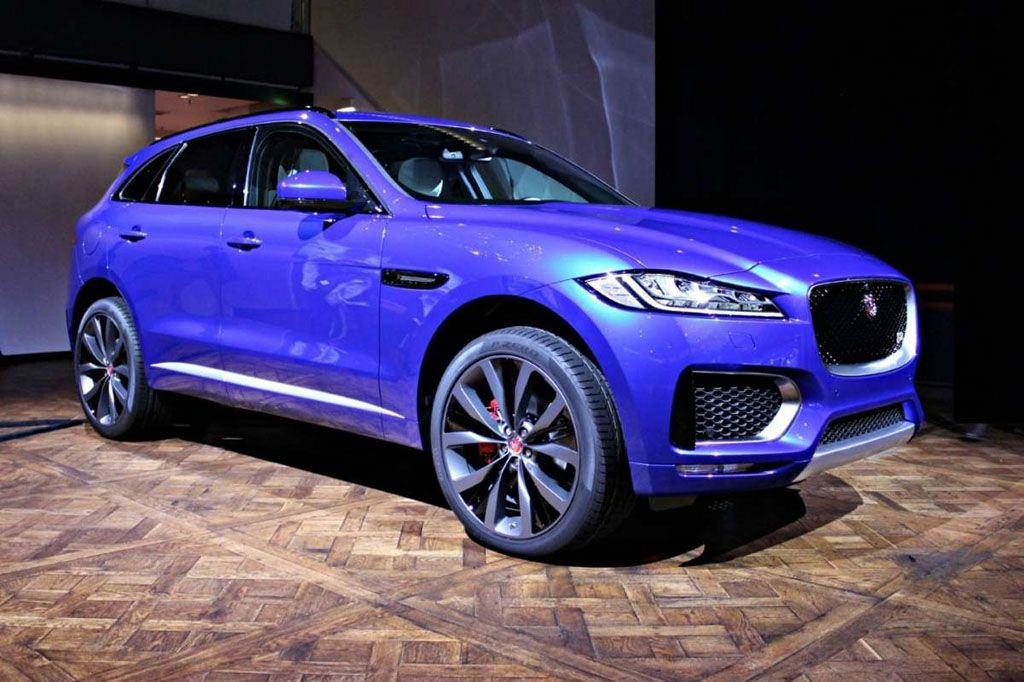 Superbollo auto, lista modelli - Jaguar F Pace