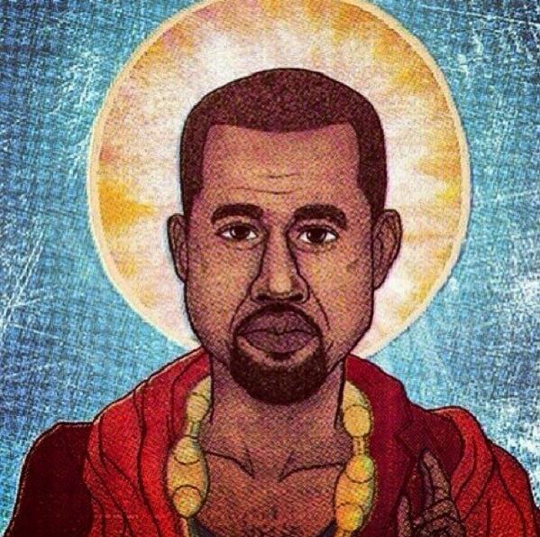 Kanye come Gesu