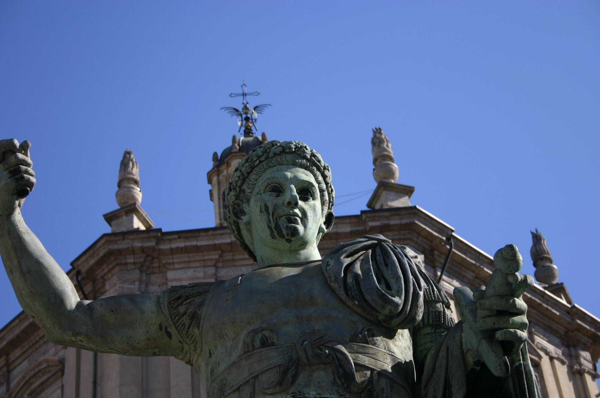 Expo 2015, la statua di Costantino torna a splendere grazie a Exponsor