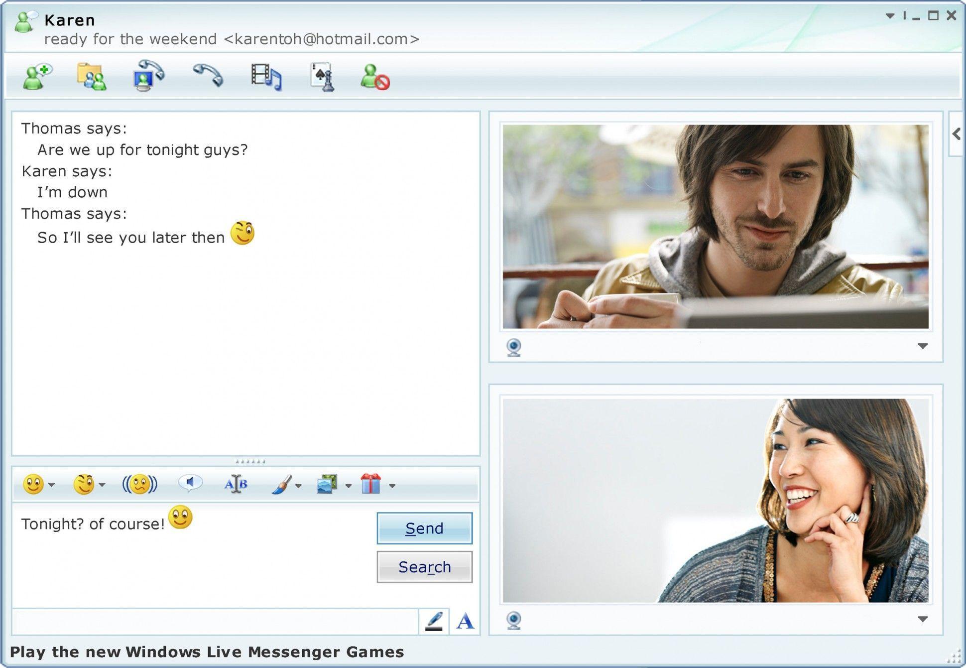 MSN Messenger Live
