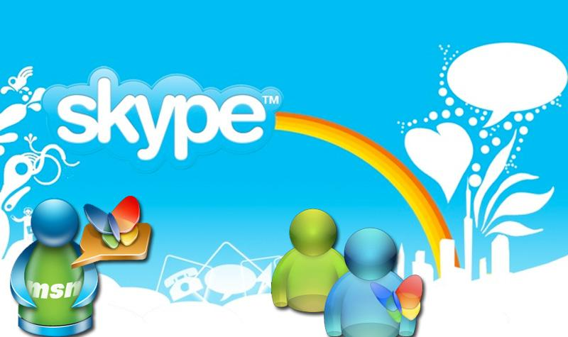 MSN e Skype