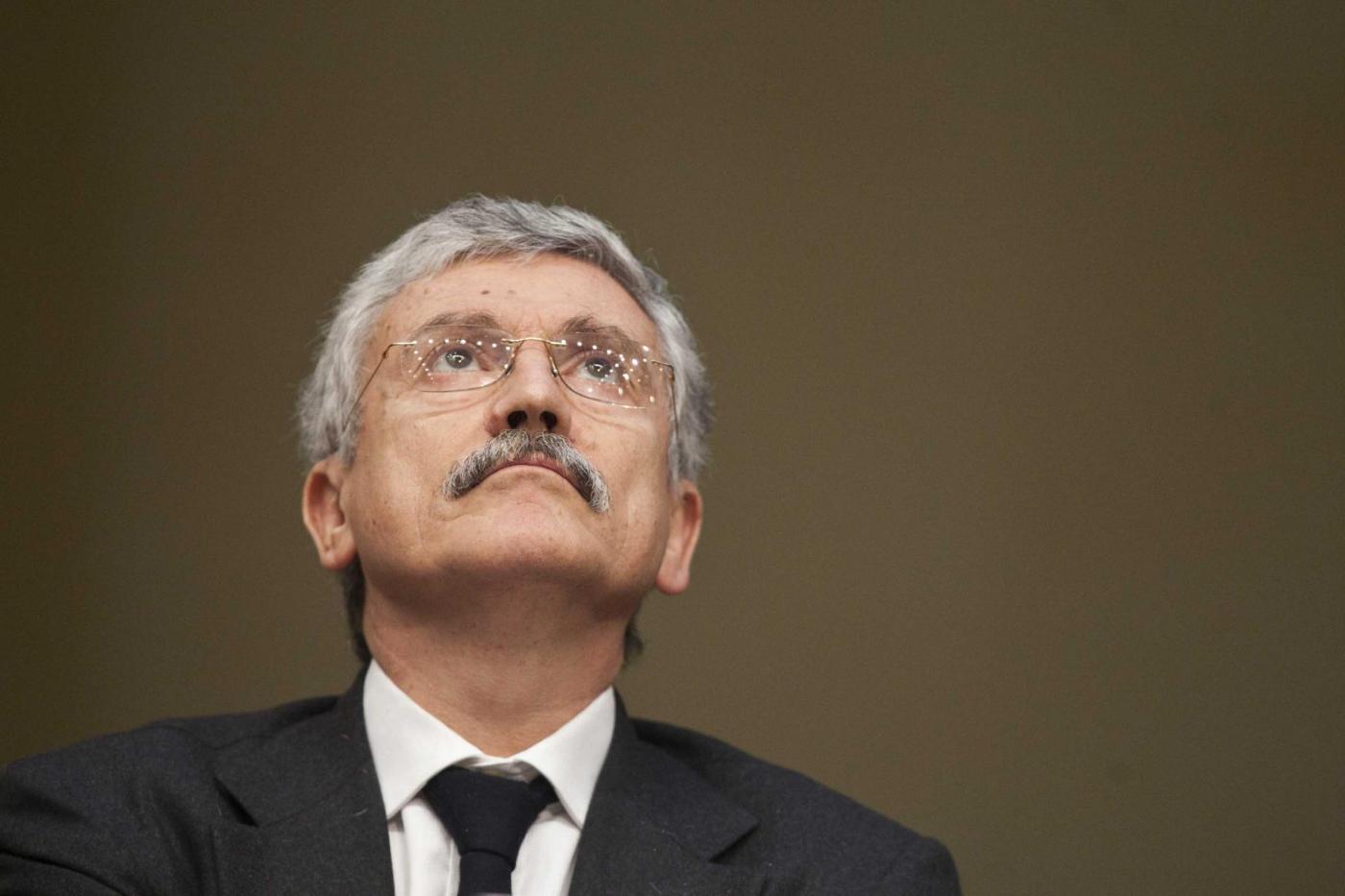 Ballottaggio Roma: Massimo D'Alema vota per Roberto Giachetti