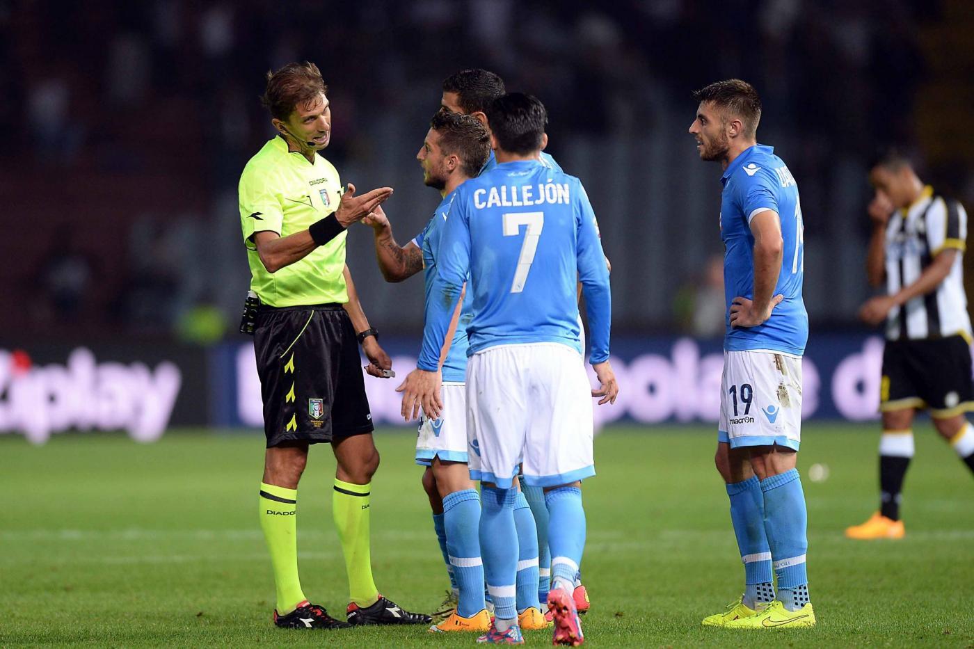 Napoli perde con Udinese
