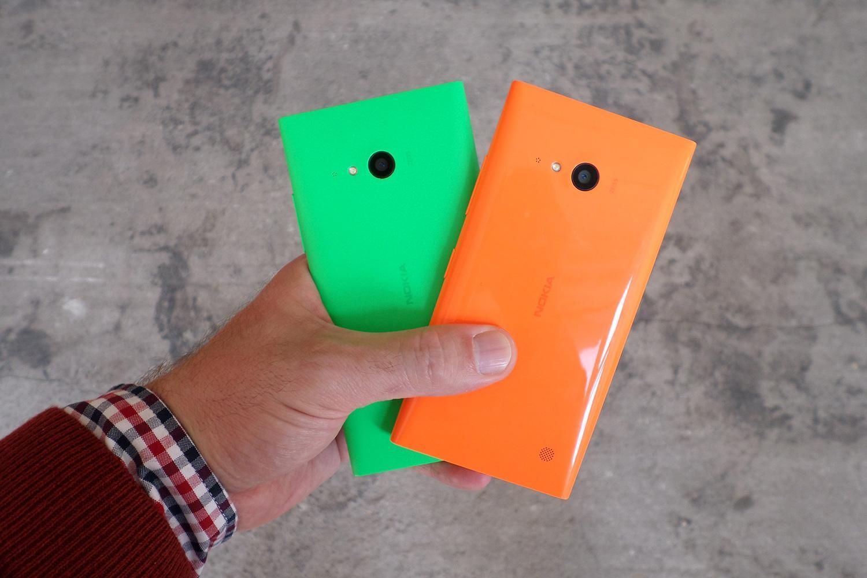 Nokia Lumia 735 retro