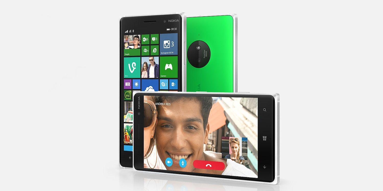 Nokia Lumia 830 verde