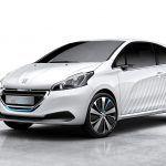 Peugeot 208 HYbrid Air 2L concept: il debutto a Parigi