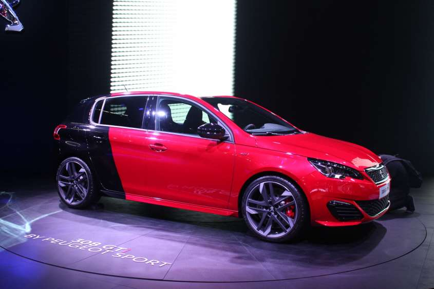 Superbollo auto, lista modelli - Peugeot 308 GTi