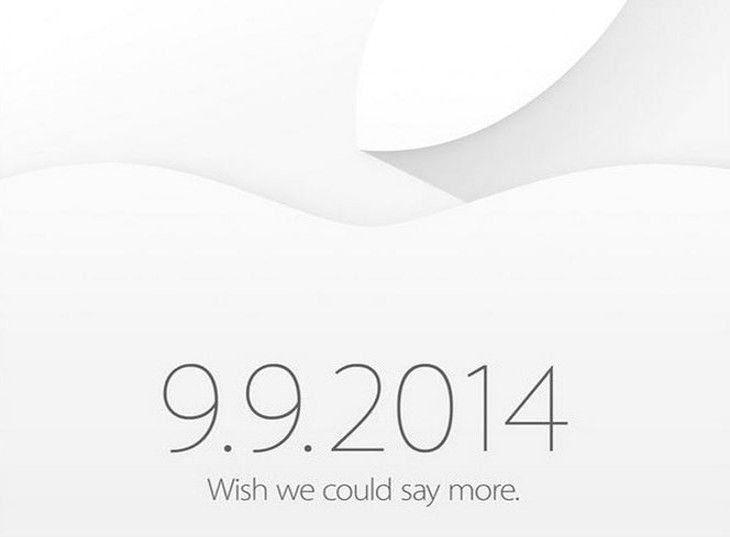 Presentazione Apple 9 settembre 2014: iPhone 6 e iWatch pronti