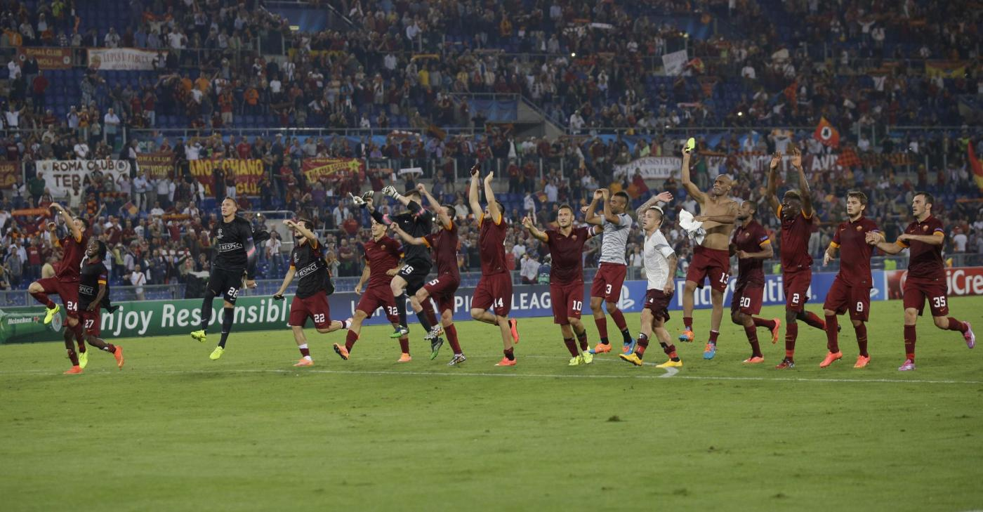 Roma-CSKA Mosca 5-1: esordio col botto in Champions