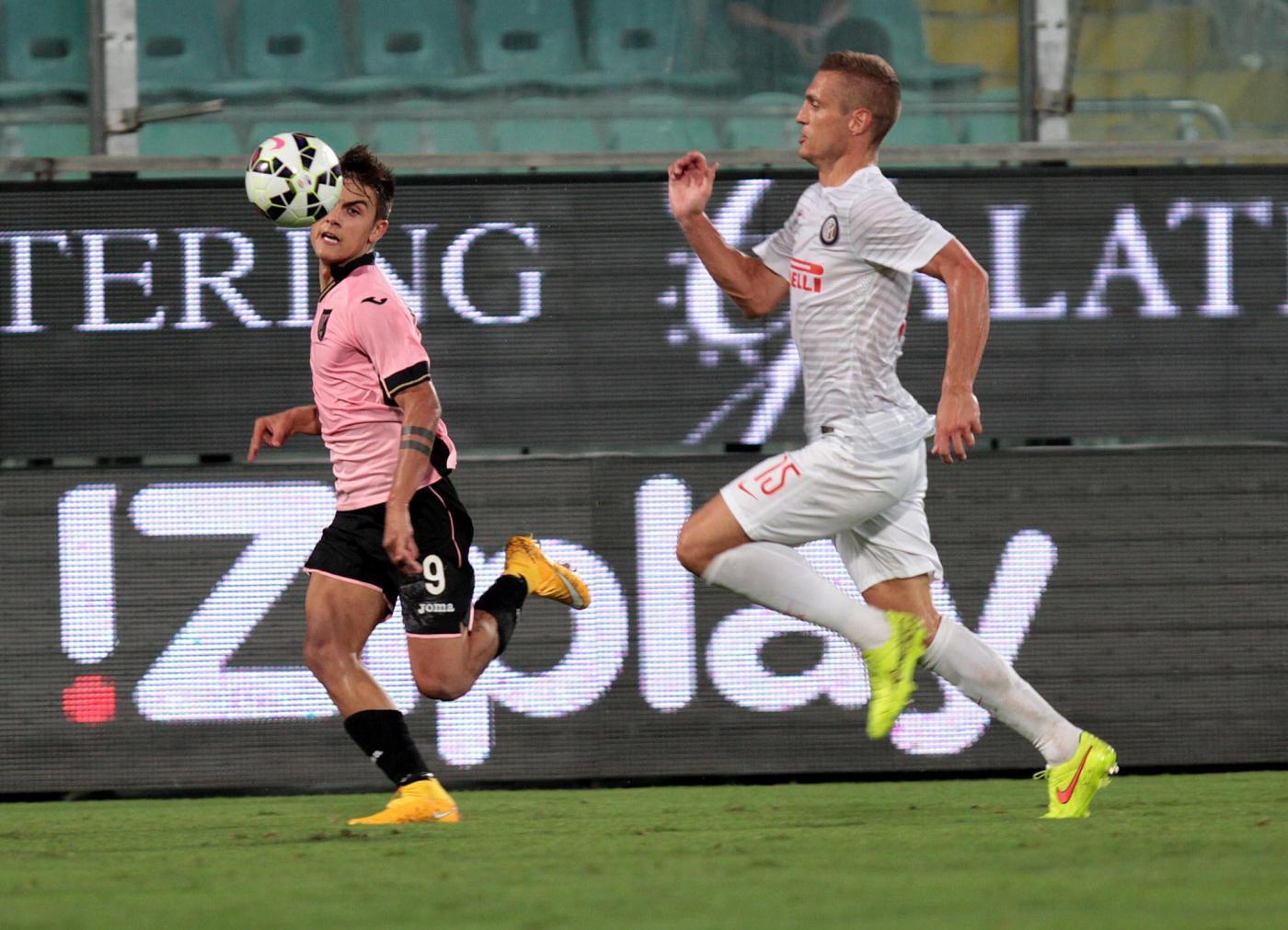 Palermo vs Inter 1-1: pasticciaccio di Vidic