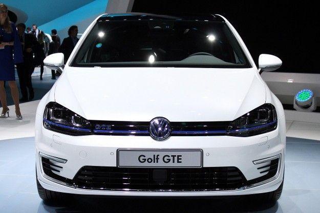 Volkswagen Golf GTE frontale