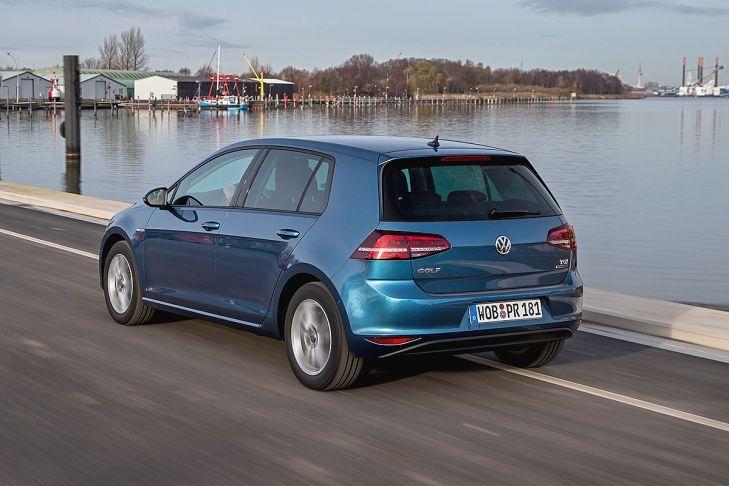 Volkswagen Golf TGI in movimento