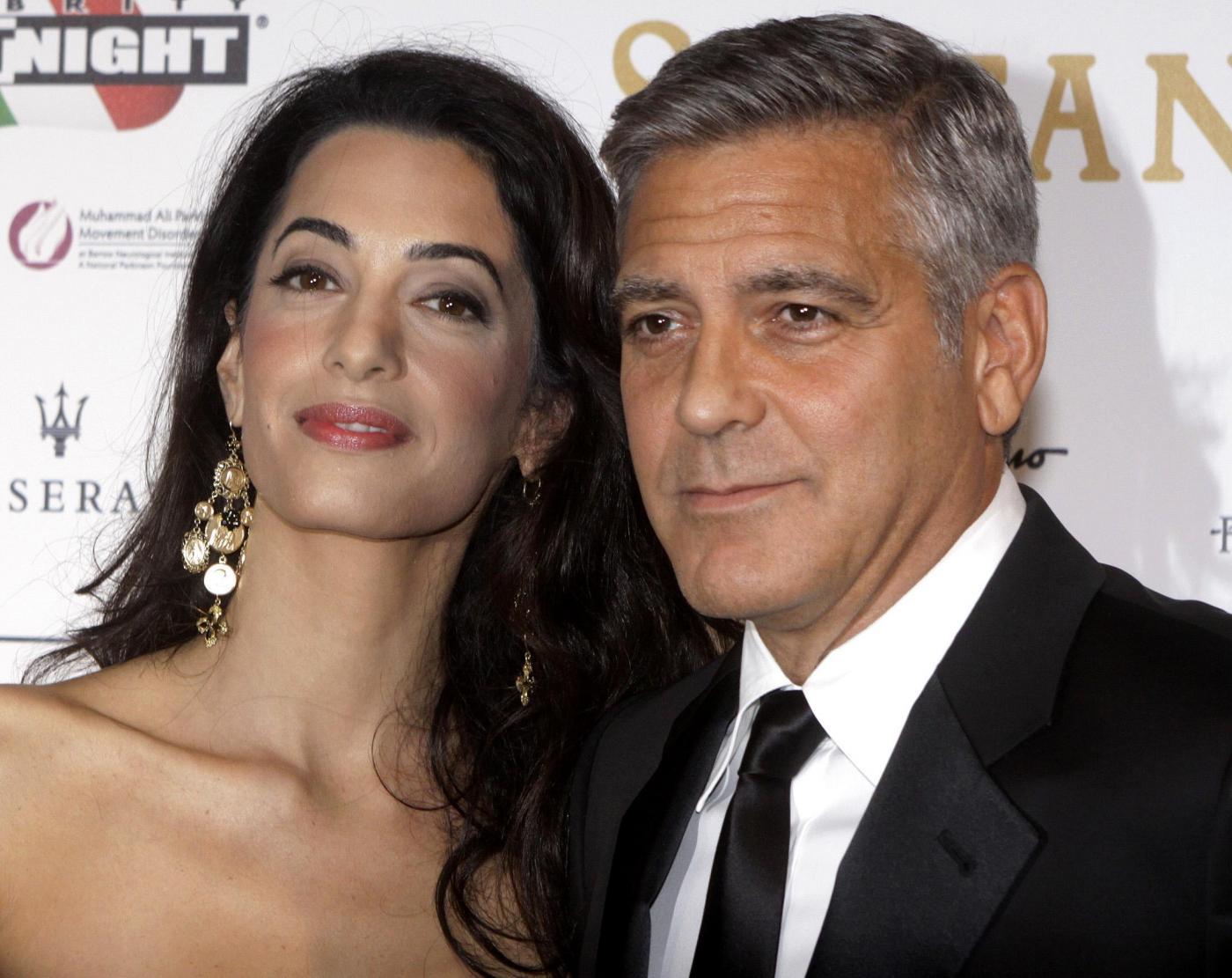 George Clooney, matrimonio a Venezia: tutto pronto per le nozze con Amal Alamuddin