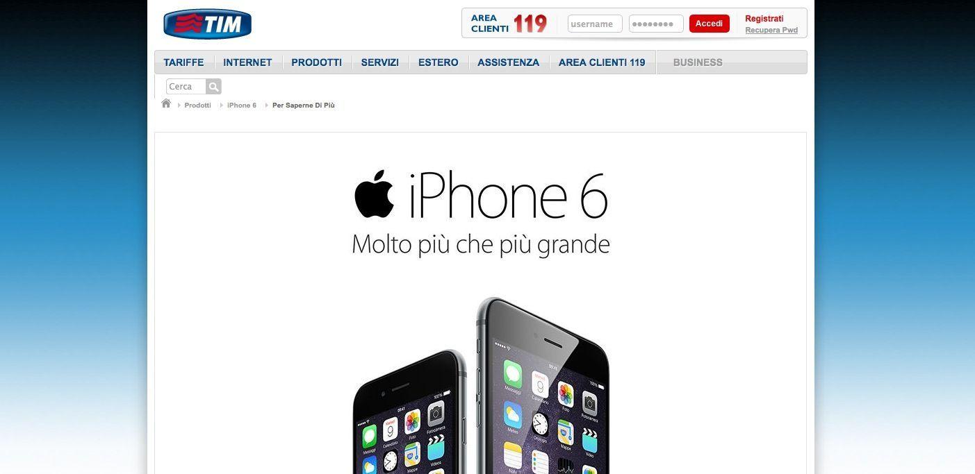 iPhone 6 TIM