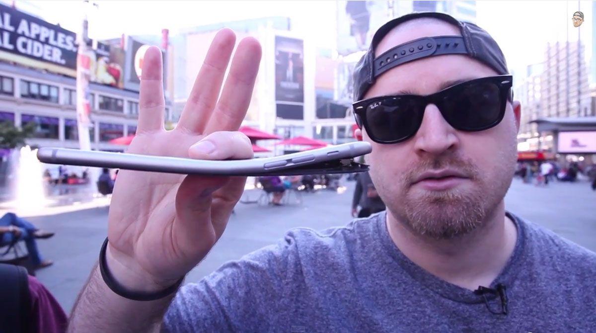 Apple: iPhone 6 non si deforma più di ogni altro cellulare