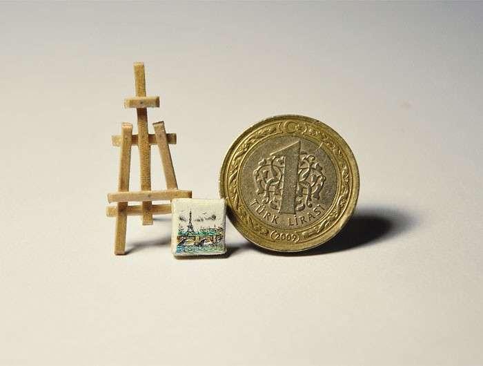 L'arte in miniatura di Mesut Kul: opere stupefacenti raccontano la sua terra