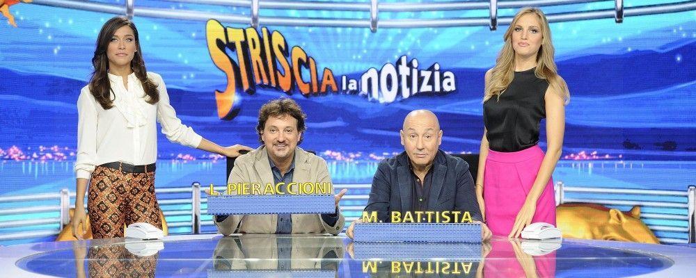 Pieraccioni-Battista: l'inedita coppia di Striscia la Notizia