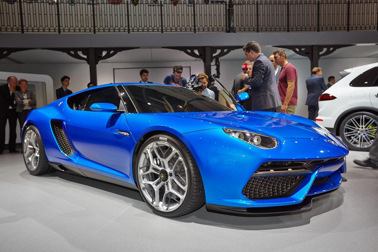 Lamborghini Asterion LPI910-4 concept: prototipo ibrido