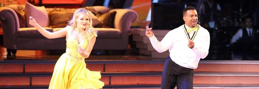 Alfonso Ribeiro dance: Carlton di Willy il Principe di Bel Air a Dancing with the stairs