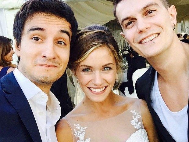 Alice Bellagamba sposata