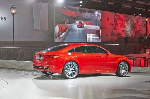 Audi TT Sportback concept posteriore