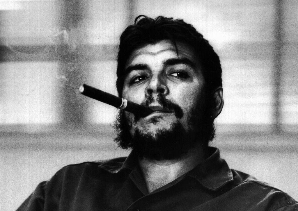 Che Guevara nello scatto di Burri