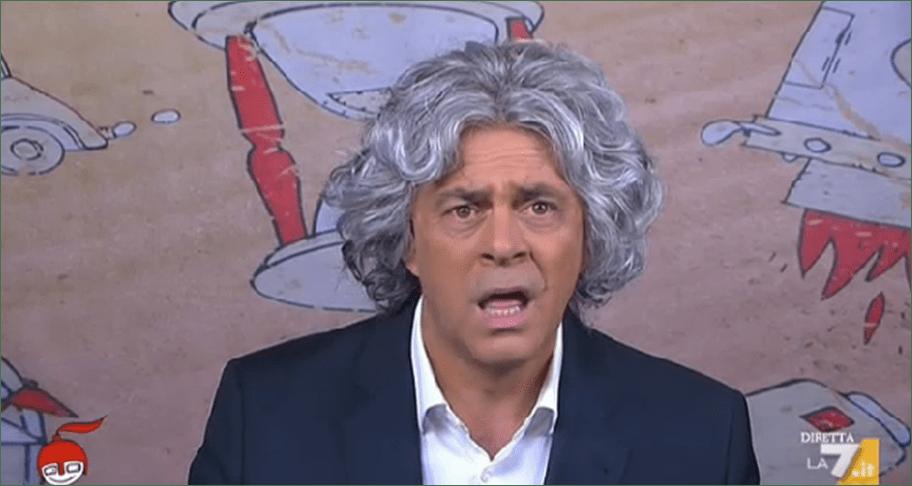 Maurizio Crozza a diMartedì, la copertina a La 7: il comico scienziato rivela il Nazareno