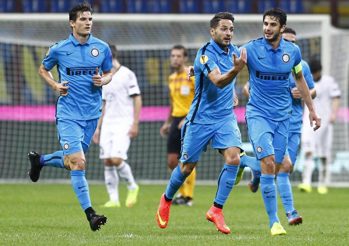 Inter vs Qarabağ 2-0: D'Ambrosio e Icardi sbrigano la pratica