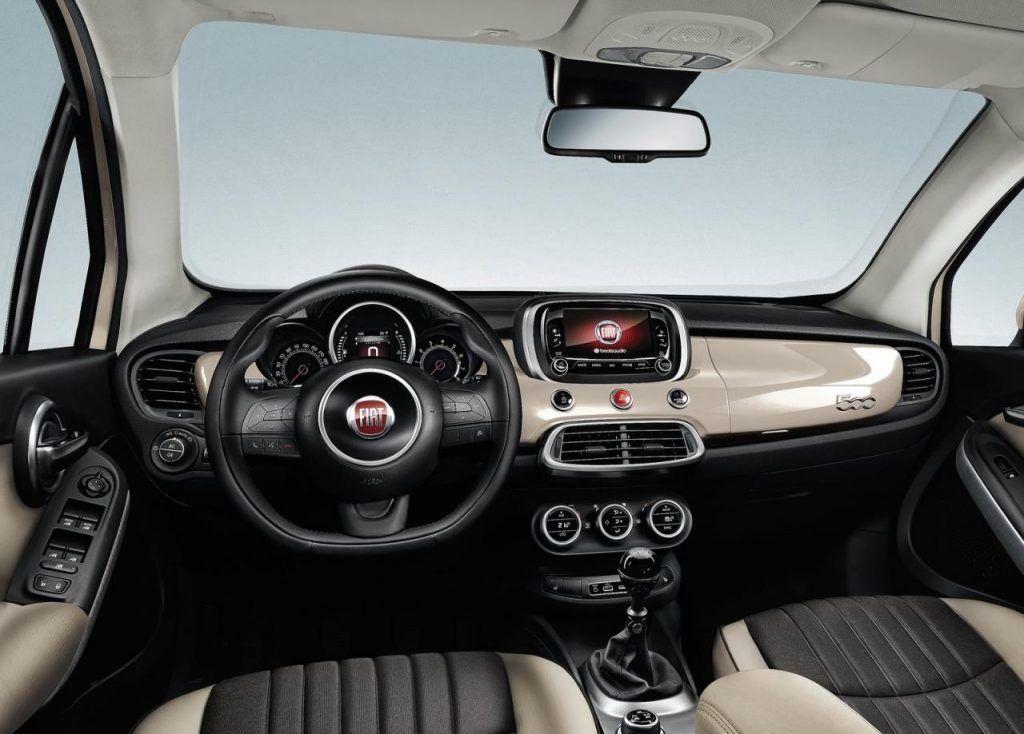 Fiat 500X interni 1024x734