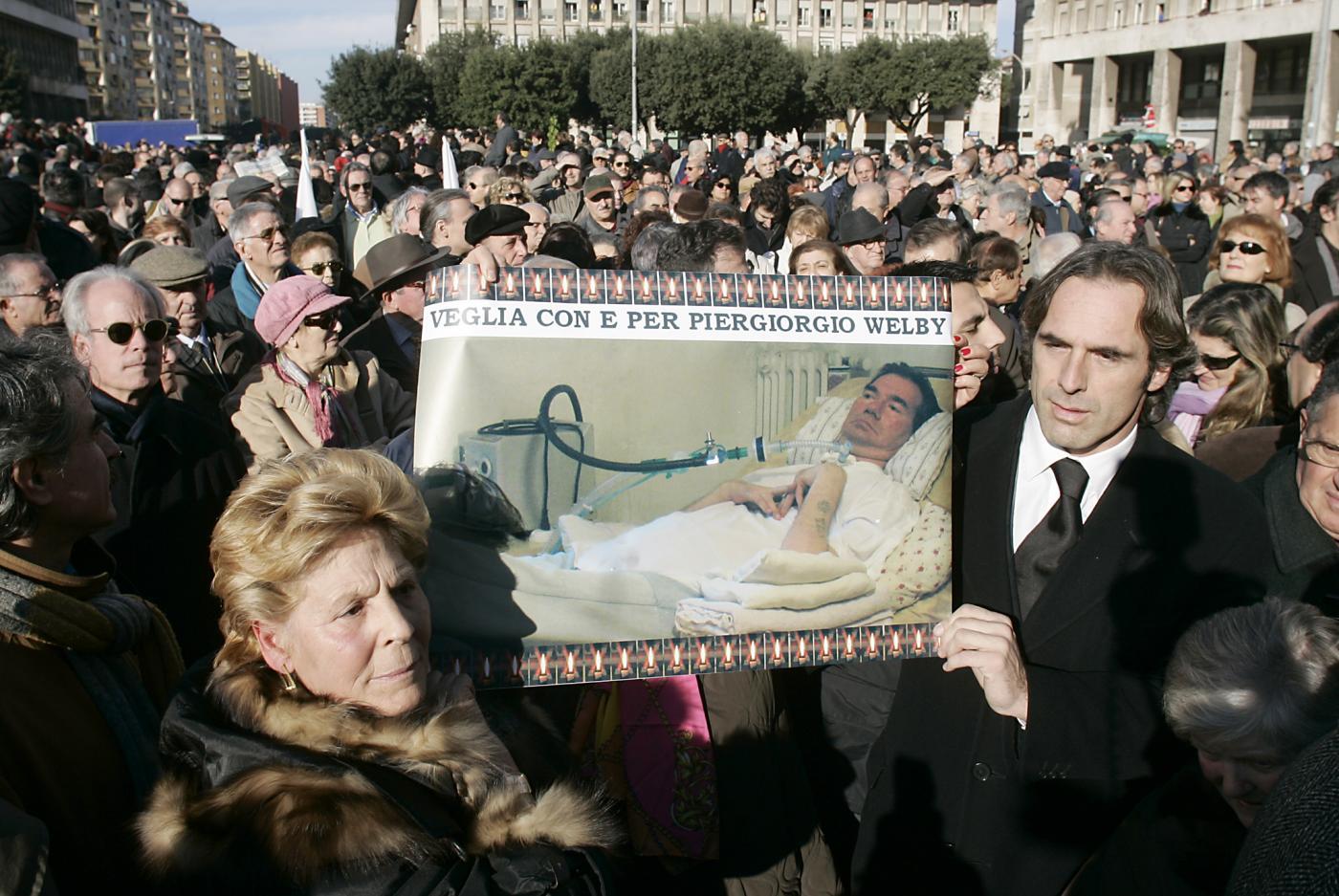 Funerale laico per Piergiorgio Welby