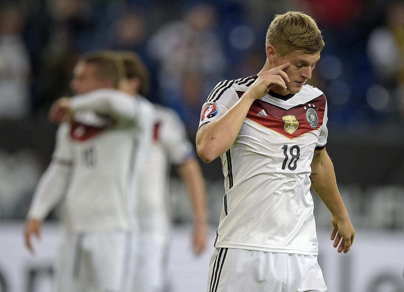 Qualificazioni Euro 2016, risultati: la Germania non sa più vincere